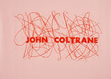 John Coltrane, jazz-serien, unika, 98x152cm, olie på japanpapir