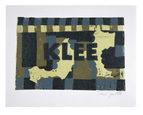 Klee, linocut, unika, 11,5x17cm, olie på japanpapir