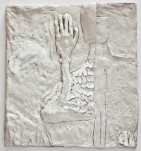 Rum Skiller, H:37xB:33cm, stentøj, 2011