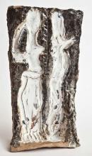 Danserne, H:41xB:16cm, stentøj, 2011