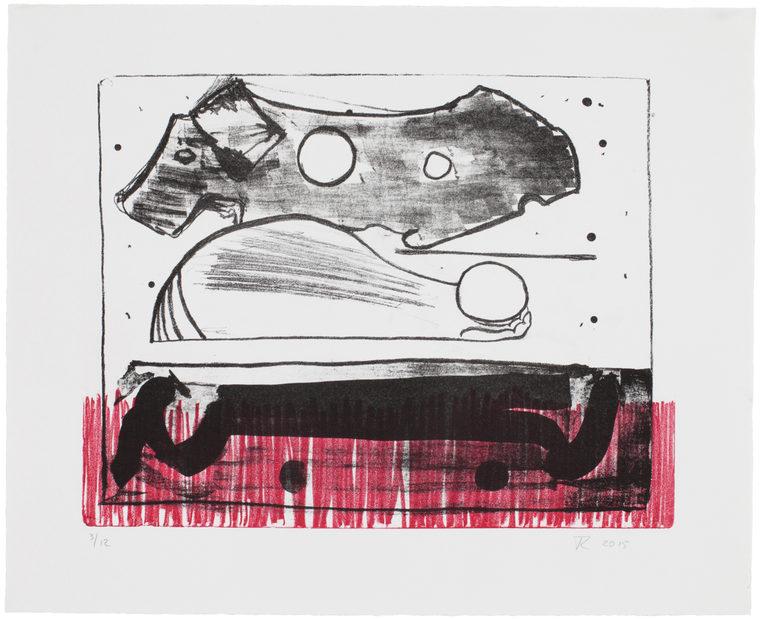 Fra serien The Listeners, 39,5x47 cm, stentryk, 2015